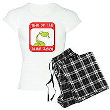Year of The Snake 2001 Pajamas