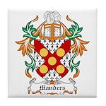 Manders Coat of Arms Tile Coaster