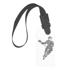Lacrosse Terminology Luggage Tag