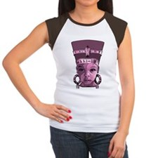 Pretty in Pink_plus size Cap Sleeve T-Shirt