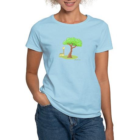 Rainbow Giraffe Women's Light T-Shirt