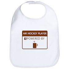 Air Hockey Player Powered by Coffee Bib