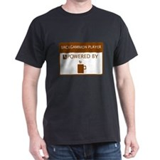Backgammon Player Powered by Coffee T-Shirt