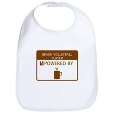 Beach Volleyball Player Powered by Coffee Bib