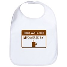 Bird Watcher Powered by Coffee Bib