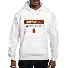 Bird Watcher Powered by Coffee Hoodie