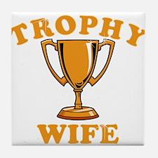 Trophy Wife 1 Tile Coaster