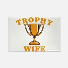 Trophy Wife 1 Rectangle Magnet