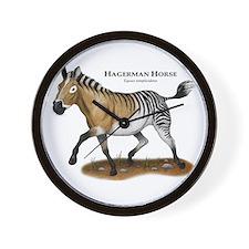 Hagerman Horse Wall Clock
