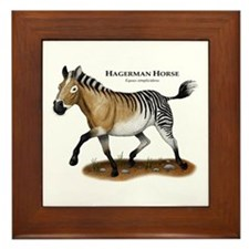 Hagerman Horse Framed Tile