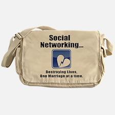 Social Networking Messenger Bag