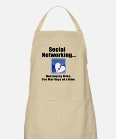 Social Networking Apron