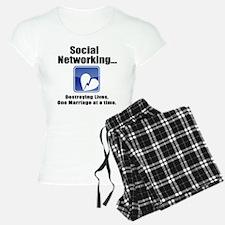 Social Networking pajamas