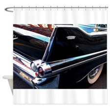 Classic Cars: 1950's Black Caddy Shower Curtain