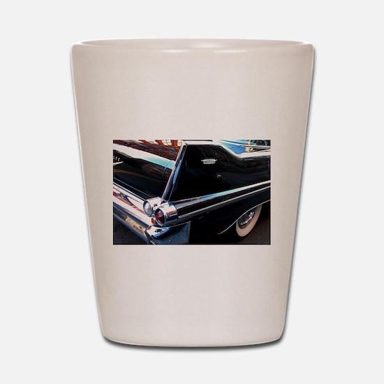 Classic Cars: 1950's Black Caddy Shot Glass