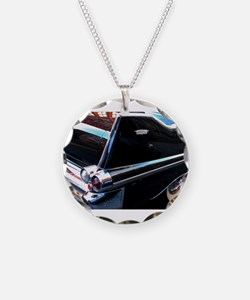 Classic Cars: 1950's Black Caddy Necklace