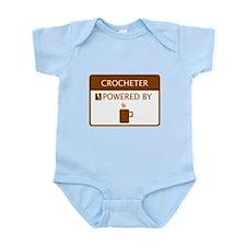Crocheter Powered by Coffee Infant Bodysuit