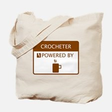 Crocheter Powered by Coffee Tote Bag