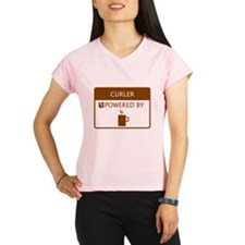 Curler Powered by Coffee Performance Dry T-Shirt