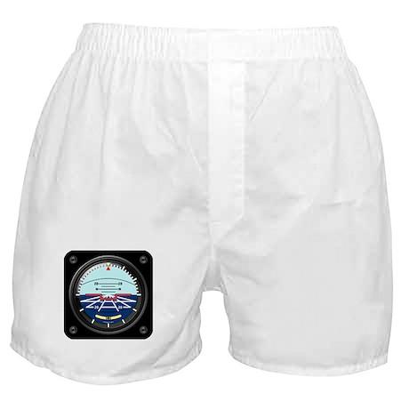Artificial Horizon (blue) Boxer Shorts