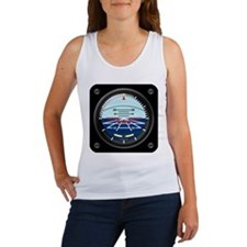 Artificial Horizon (blue) Women's Tank Top