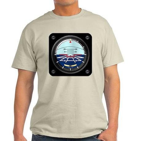 Artificial Horizon (blue) Light T-Shirt