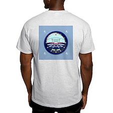 Artificial Horizon (blue) T-Shirt