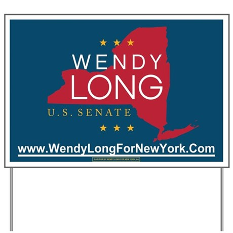 Wendy Long for New York Yard Sign