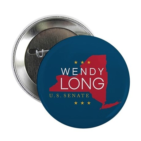 "Wendy Long for New York 2.25"" Button (10 pack"