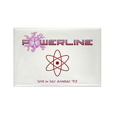 Powerline Concert Rectangle Magnet