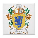 Mahon Coat of Arms Tile Coaster