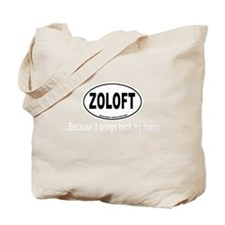 Zoloft Brings Back My Happy Tote Bag