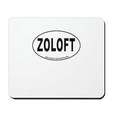 Zoloft Brings Back My Happy Mousepad