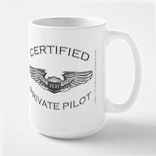 Pilot Wings (silver) Mug