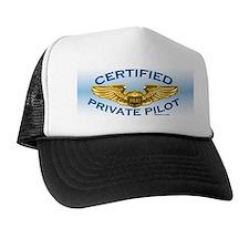 Pilot Wings (gold on blue) Trucker Hat