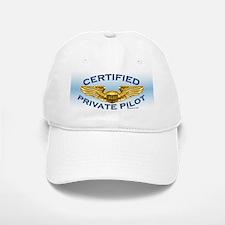 Pilot Wings (gold on blue) Baseball Baseball Cap