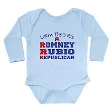 Romney Rubio Republican 2012 Long Sleeve Infant Bo