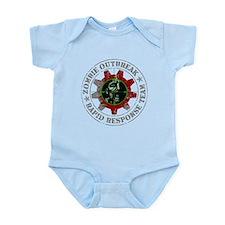 Zombie Outbreak Rapid Response Team Infant Bodysui
