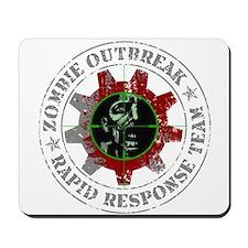 Zombie Outbreak Rapid Response Team Mousepad