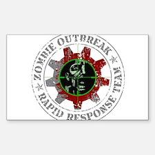 Zombie Outbreak Rapid Response Team Decal