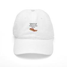 Bacon Poem Baseball Cap