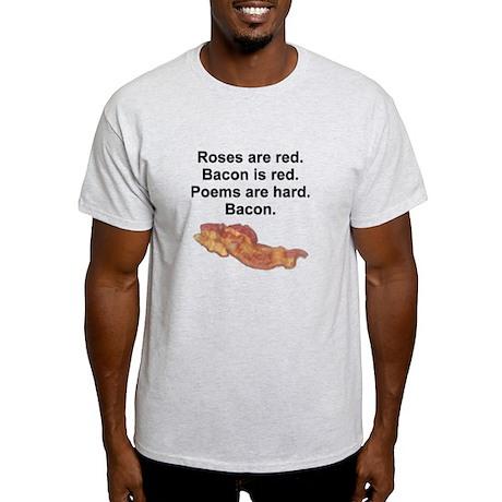 Bacon Poem Light T-Shirt