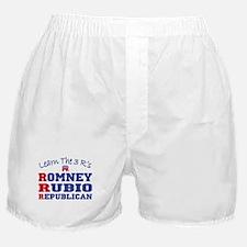 Romney Rubio Republican 2012 Boxer Shorts