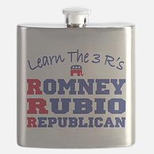 Romney Rubio Republican 2012 Flask