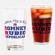Romney Rubio Republican 2012 Drinking Glass
