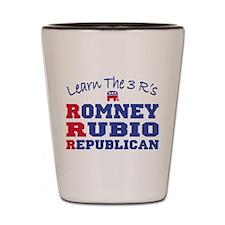 Romney Rubio Republican 2012 Shot Glass