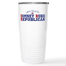 Romney Rubio Republican 2012 Travel Mug