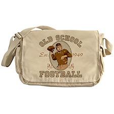 Old School Football Messenger Bag