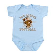Old School Football Infant Bodysuit