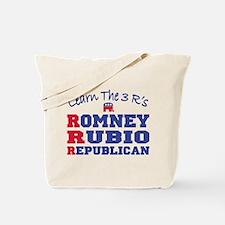 Romney Rubio Republican 2012 Tote Bag